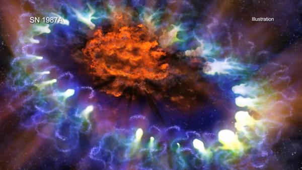 Supernova 1987A - Sputnik Mundo