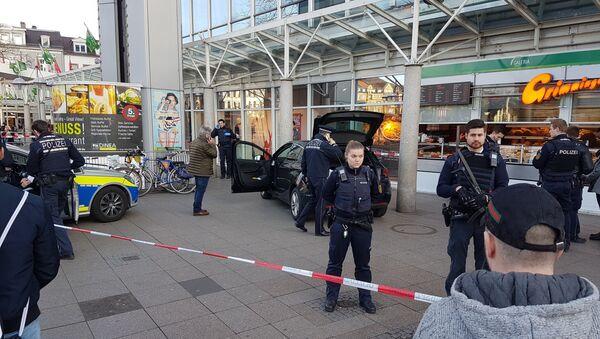 Policía de Heidelberg, Alemania - Sputnik Mundo