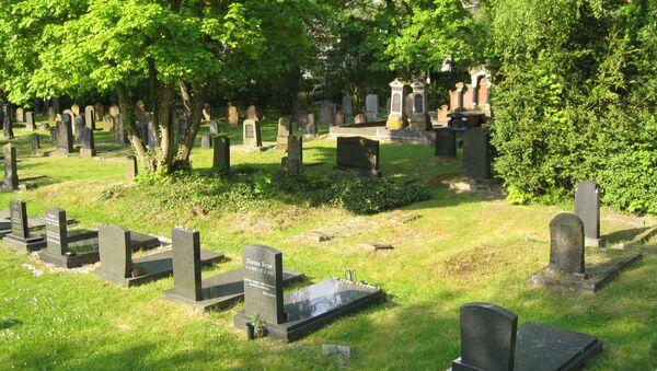 Cementerio (imagen referencial) - Sputnik Mundo