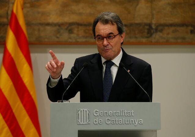 Artur Mas, el expresidente catalán