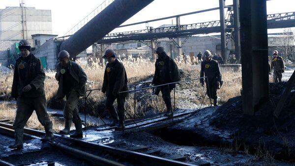 Mineros de Donbás - Sputnik Mundo