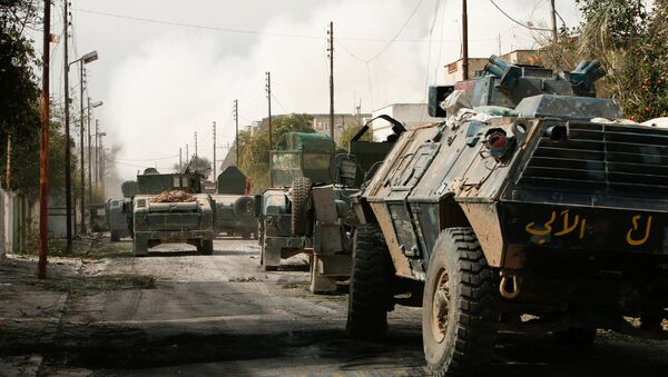 El Ejército iraquí en Mosul - Sputnik Mundo