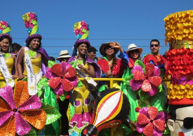 Carnaval de Barranquilla, Colombia (archivo)