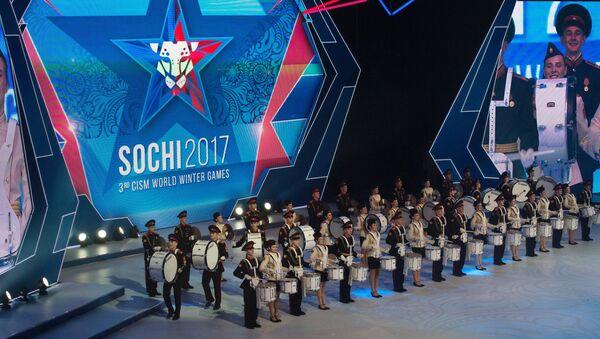 Сeremonia de apertura de los Juegos Militares en Sochi - Sputnik Mundo