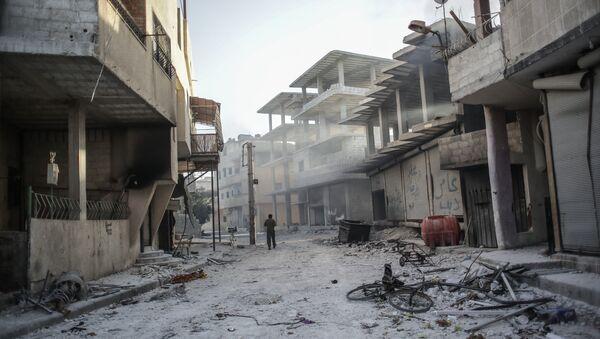 Ситуация в сирийском городе Гута - Sputnik Mundo