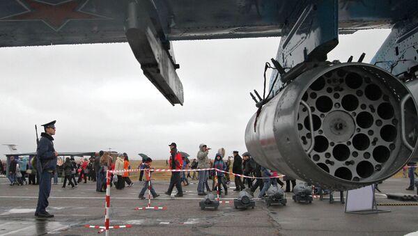 Base aérea rusa de Kant (archivo) - Sputnik Mundo