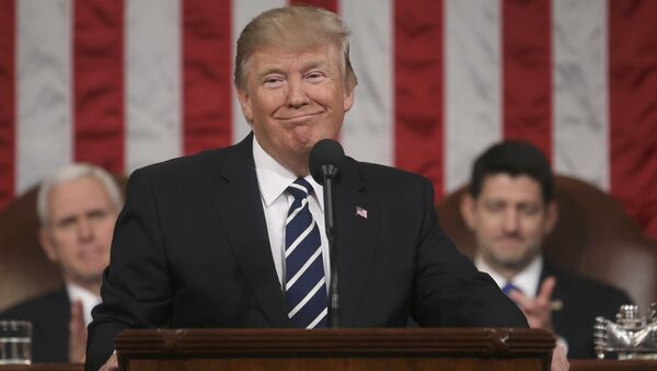 El presidente de EEUU, Donald Trump - Sputnik Mundo