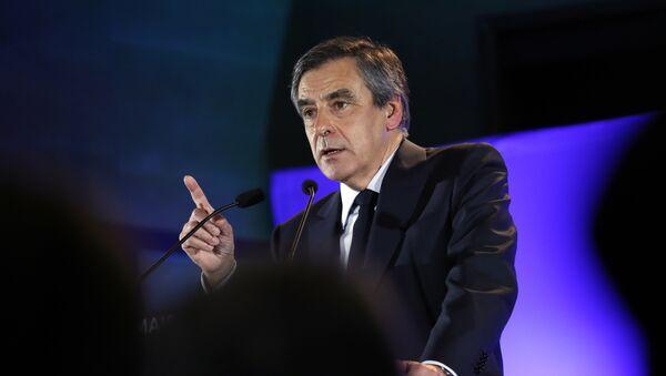 François Fillon, candidato a la presidencia de Francia - Sputnik Mundo