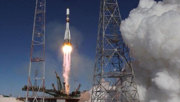 Прогресс МС стартует с Байконура к МКС - Sputnik Mundo