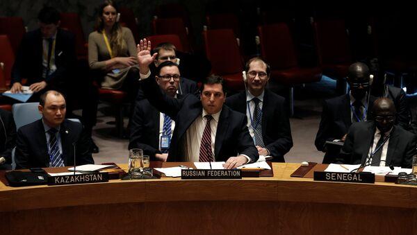 Vladímir Safronkóv, el representante permanente adjunto de Rusia ante la ONU - Sputnik Mundo