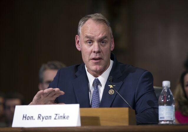 Ryan Zinke, nominado Secretario del Departamento de Interior