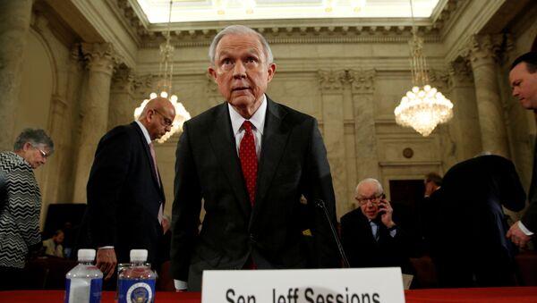 Jeff Sessions, fiscal general de EEUU - Sputnik Mundo