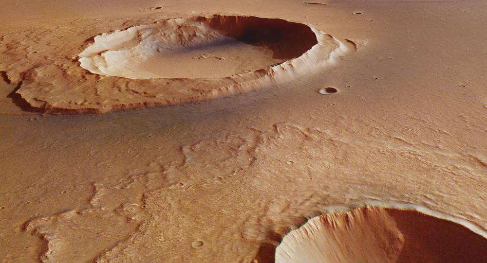 El cráter Worcester
