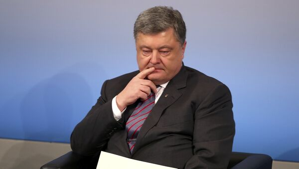 Petró Poroshenko, presidente de Ucrania - Sputnik Mundo
