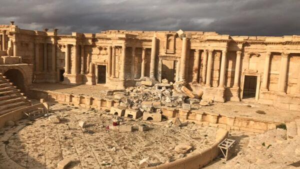 El complejo histórico de Palmira en la provincia siria de Homs - Sputnik Mundo