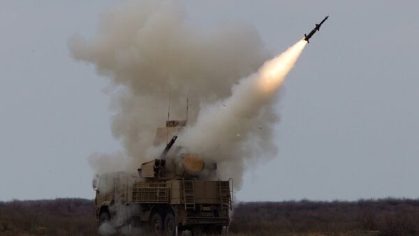 Complejo de misiles antiaéreos ruso Pantsir - Sputnik Mundo
