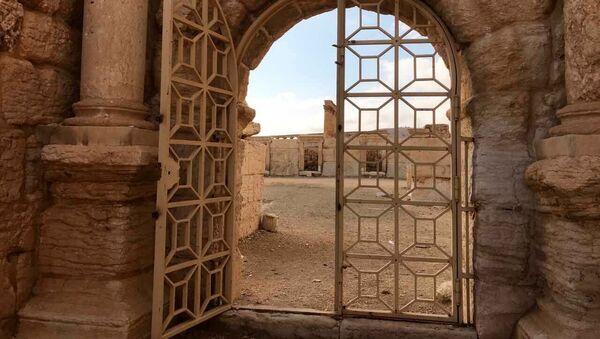 Историко-архитектурный комплекс Древней Пальмиры в сирийской провинции Хомс - Sputnik Mundo