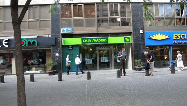 Caja Madrid - Sputnik Mundo