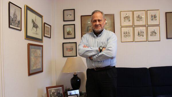 Eugenio Nikitich Dobrynin, en su casa en Madrid - Sputnik Mundo
