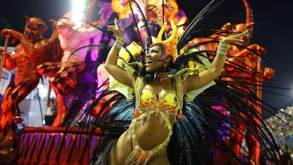 Carnaval de Río de Janeiro (Archivo) - Sputnik Mundo