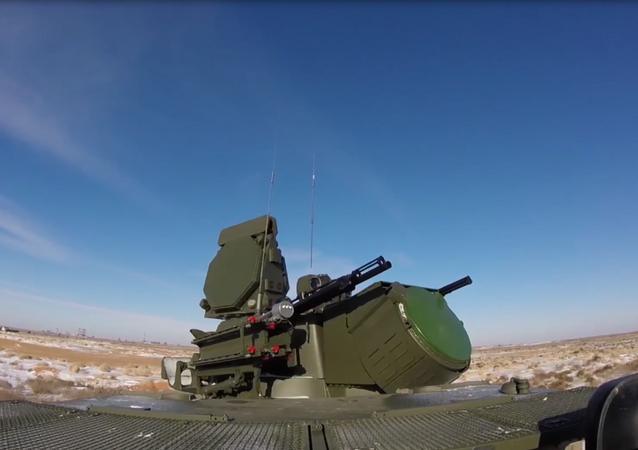 Equipo militar ruso