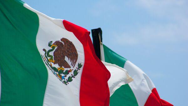 Bandera Mexicana - Sputnik Mundo