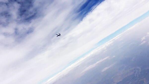 Un dron de largo alcance (imagen referencial) - Sputnik Mundo