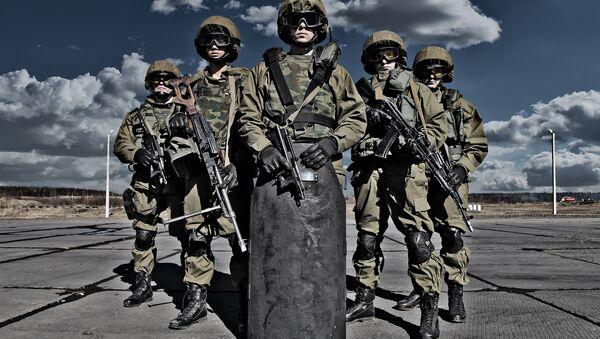 Fuerzas Especiales rusas (Archivo) - Sputnik Mundo