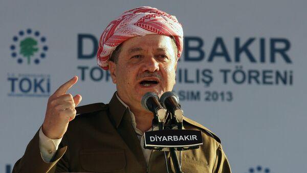 Serokê Herêma Kurdistanê Mesûd Barzanî - Sputnik Mundo