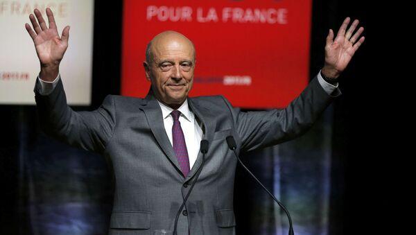 Alain Juppé, ex primer ministro francés y alcalde de Burdeos - Sputnik Mundo