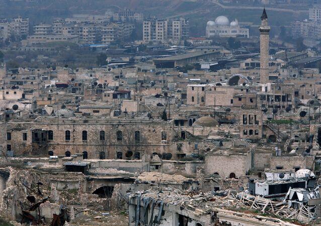 La situación en la ciudad de Alepo en enero de 2017