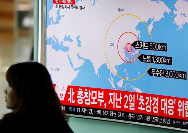 Corea del Norte lanza misiles balísticos