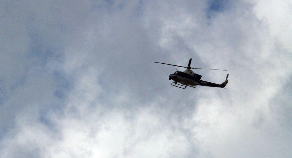 Un helicóptero Bell 412 (imagen referencial)