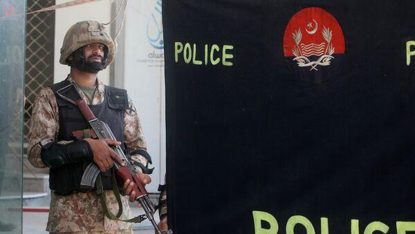 Un soldado pakistaní (archivo) - Sputnik Mundo