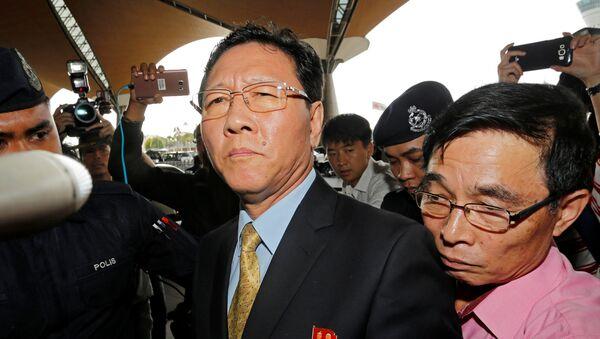 Kang Chol, el embajador de Corea del Norte en Kuala Lumpur - Sputnik Mundo