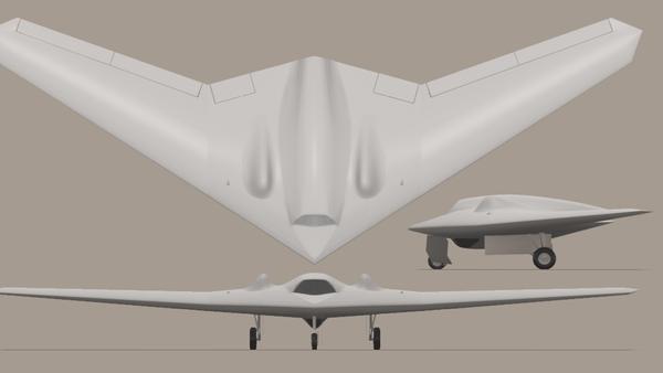 RQ-170 Sentinel impression - Sputnik Mundo
