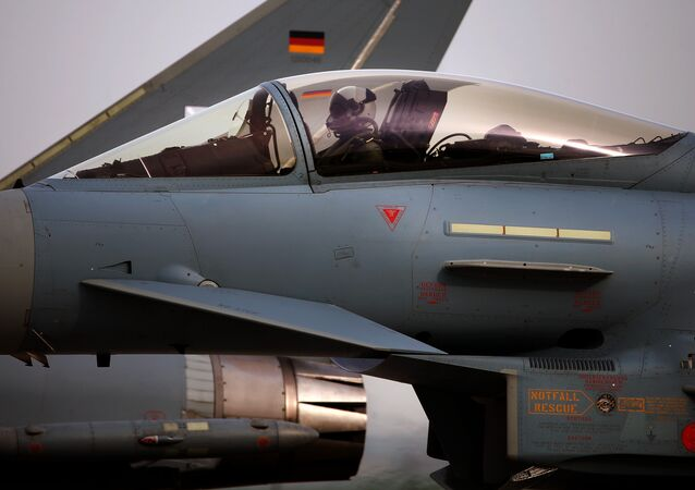 Eurofighter Typhoon (archivo)