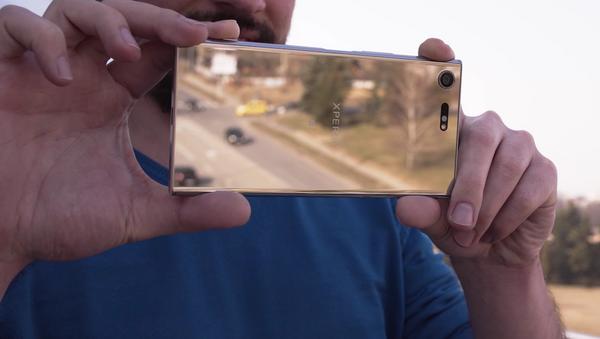 Teléfono inteligente Sony Xperia XZ Premium - Sputnik Mundo