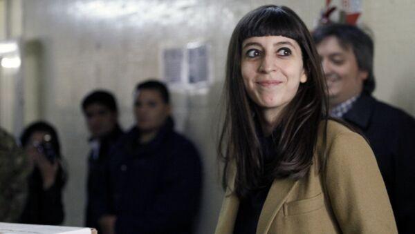 The daughter of Argentina's President Cristina Fernandez de Kirchner, Florencia Kirchner - Sputnik Mundo