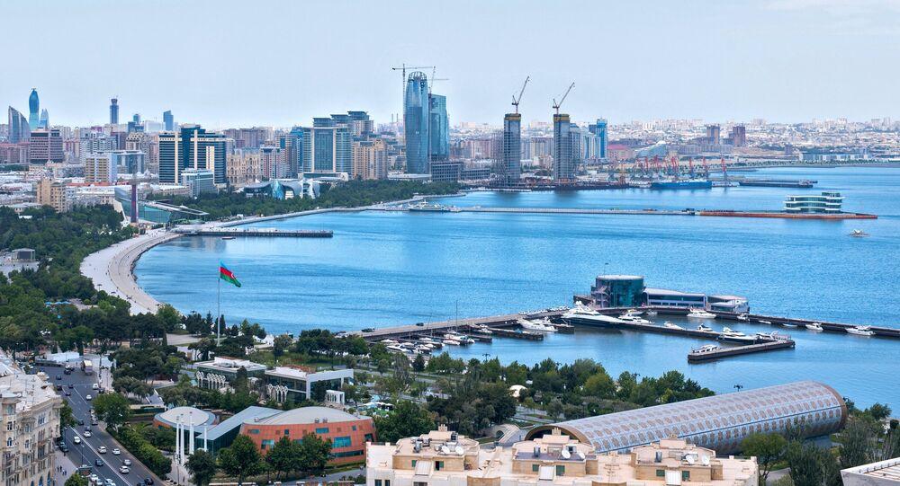 Bakú, capital de Azerbaiyán