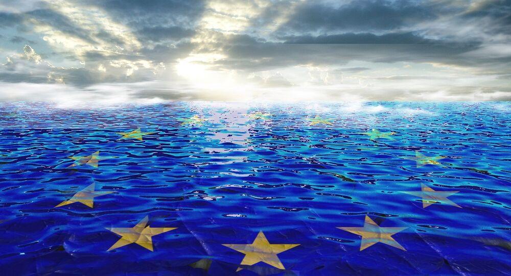 Bandera de la Unión Europea (imagen referencial)