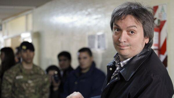 Máximo Kirchner, el hijo de la expresidenta de Argentina, Cristina Kirchner - Sputnik Mundo