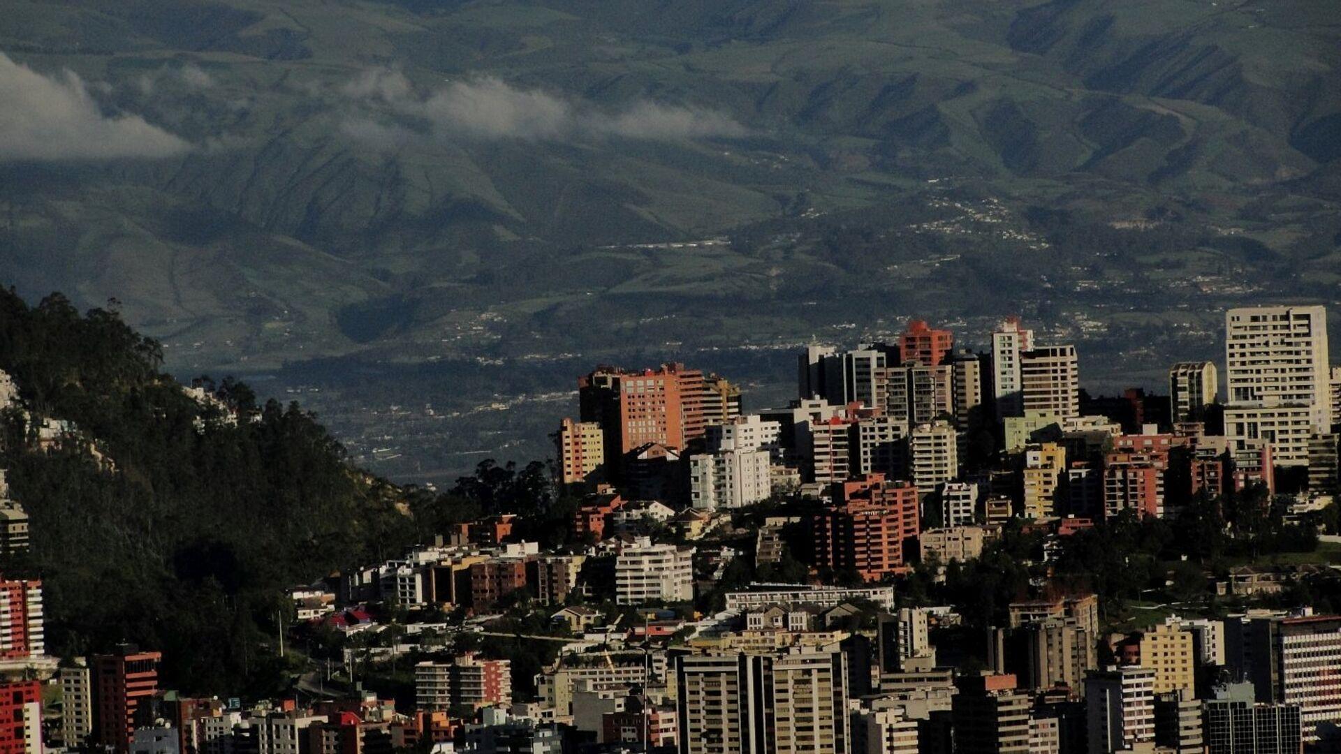 Quito, la capital de Ecuador - Sputnik Mundo, 1920, 17.06.2021