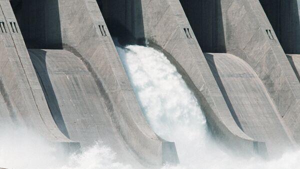 Una central hidroeléctrica (Archivo) - Sputnik Mundo