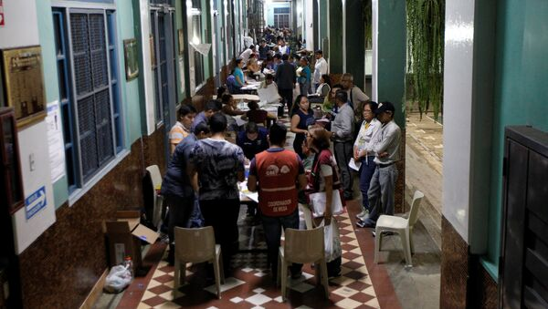 Conteo de votos en Ecuador (archivo) - Sputnik Mundo