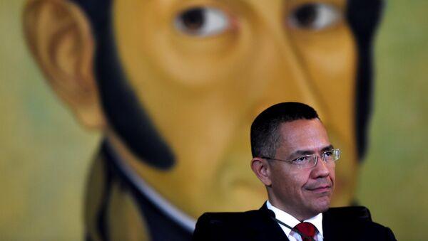 Ernesto Villegas, ministro de Cultura de Venezuela - Sputnik Mundo