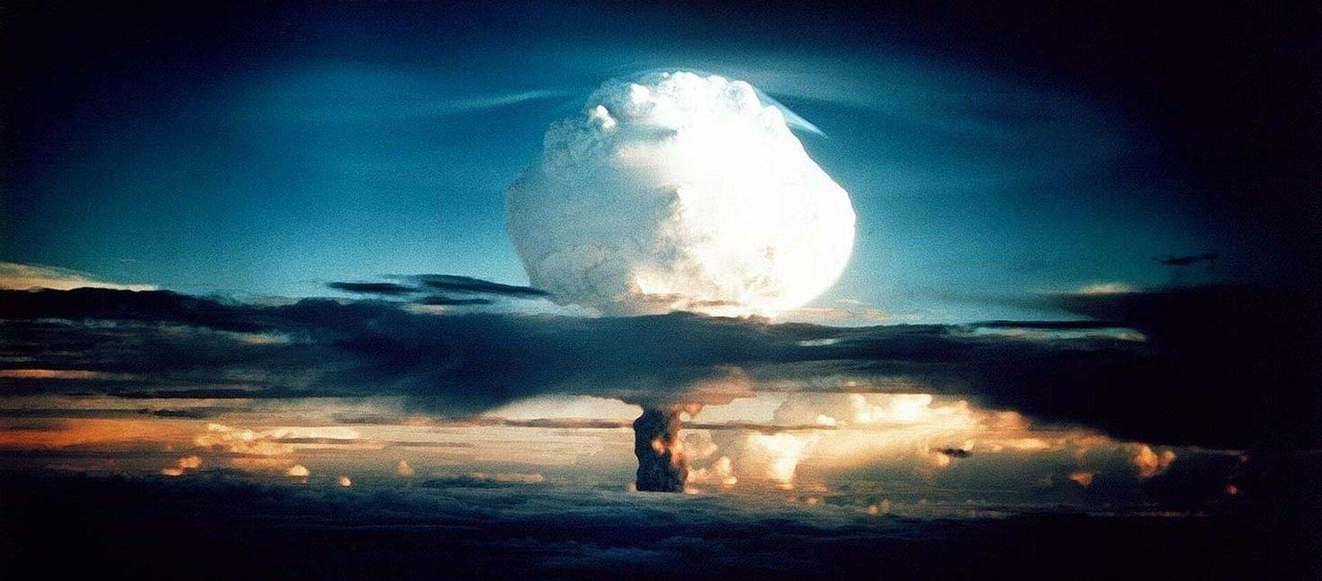 Explosión nuclear (imagen referencial) - Sputnik Mundo, 1920, 18.01.2021
