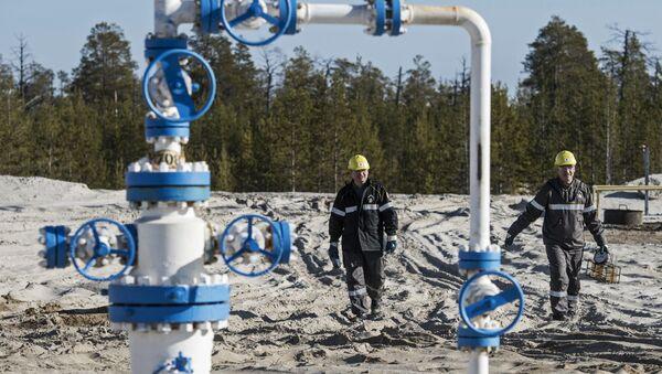 Extracción de petróleo y gas en Rusia - Sputnik Mundo