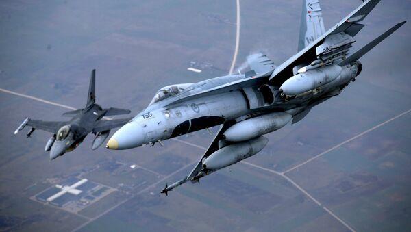 Aviones de la OTAN en Lituania (archivo) - Sputnik Mundo