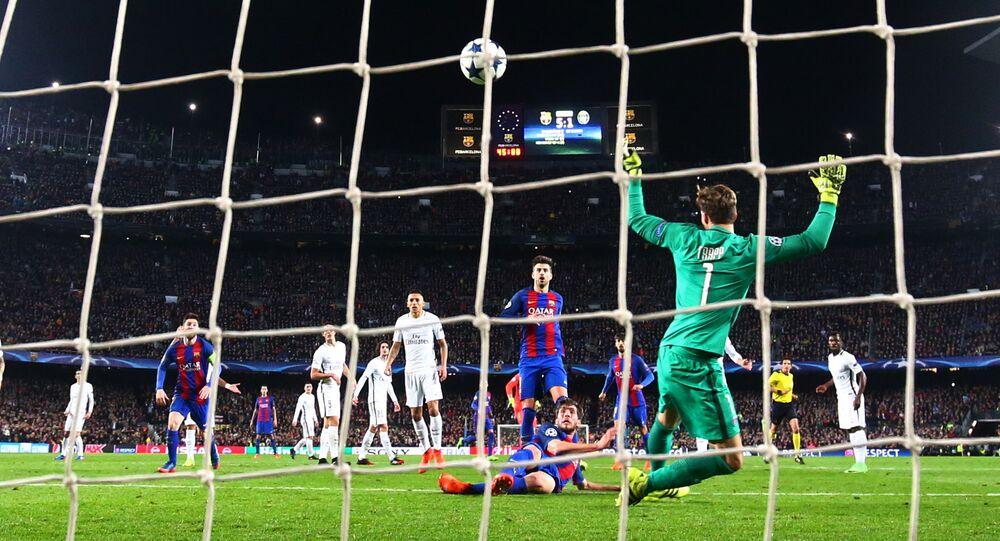 Un gol de Sergi Roberto